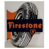 DSP Firestone flange sign