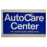 SST Napa Auto Care Center 2 piece sign