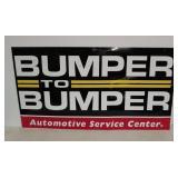 SST Bumper to Bumper service sign