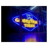 Good Year neon sign