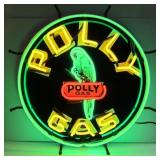 Polly Gasoline neon sign