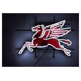 Pegasus Neon sign W/ backing