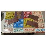 Variety of licence plates- WI, FL, ILL, MD, OH, LA