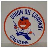 SS Union Oil Company Gasoline sign