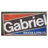 SST Gabriel shocks & struts embossed sign