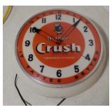 Orange- Crush light up clock