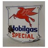 SSP Mobilgas Special pump plate