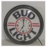 Bud Light clock