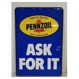 DST Pennzoil sign