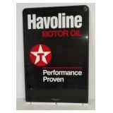 DST Havoline oil sign