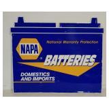 SST Napa Batteries embossed sign