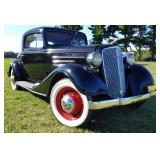 1934 Chevrolet Master 3W Coupe with Rumble Seat