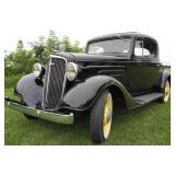 1934 Chevrolet Standard 3W Coupe