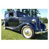 1934 Chevrolet Master Sedan 2 Door Flatback