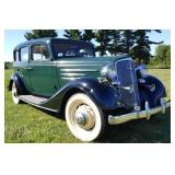 1934 Chevrolet Master Sedan 4 Door