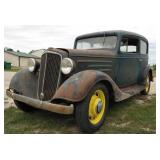 1934 Chevrolet Standard 2 Door Sedan Flatback