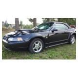 2004 Ford Mustang Anniversery Convertible
