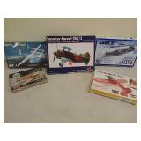 Assorted aeroplane models