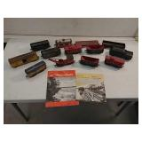Railroad toy cars