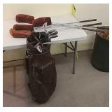 Dave Pelz golf clubs and bag. (Full set)
