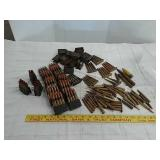 Large lot Military/civilian rifle rds,old stock
