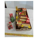 Collectable empty ammo and other boxes