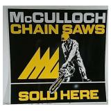 SST McCullough Chainsaw sign