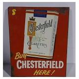 DST Chesterfield flange sign