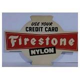 Firestone cardboard cutout
