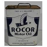 Rocor 2 gallon Motor Oil can