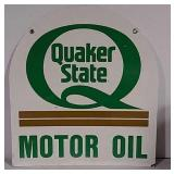 SST Tombstone Quaker State sign