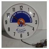 Walbern Agri-Systems clock