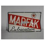SST Marfak lubrication Texaco sign
