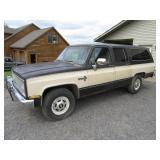1984 Chevrolet C20 Suburban 2wd