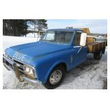 P1967 GMC Flatbed Pickup Truck