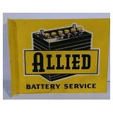 DST flange Allied Batteries Service sign