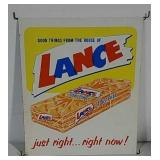 SST embossed Lance Toastchee sign