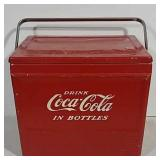Galvanized Coca-Cola cooler