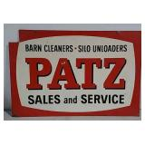 DST Patz Sales and Service sign