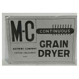 SST M-C Grain Dryer sign