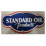 SS Standard Oil Products sign