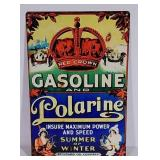 SST Red Crown Gasoline and Polarine sign