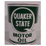 Quaker State 1 gallon motor oil can