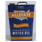 Allstate Motor Oil 10 qt can