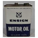 Ensign Motor Oil 2gal can