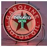 Texaco neon light