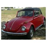 1972 VW Beetle Convertible