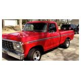 1979 Ford F100 Short Box