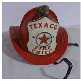 Plastic Texaco Fire Chief helmet