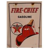 SST Texaco Fire Chief sign